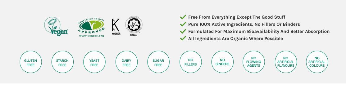 pure active ingredients